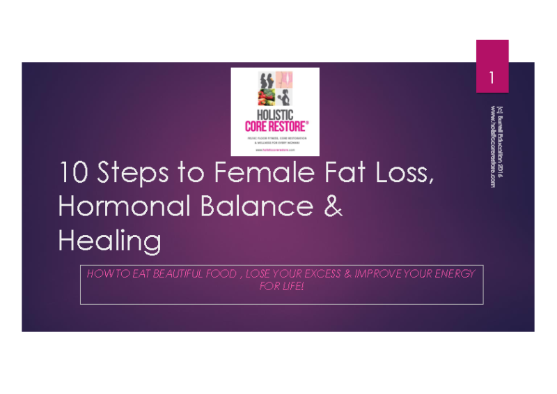 10_Steps_to_Female_Fat_Loss_And_Healing_Nutrition