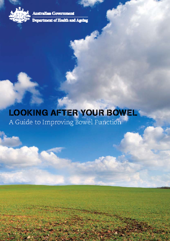 Looking After Your Bowel – Booklet