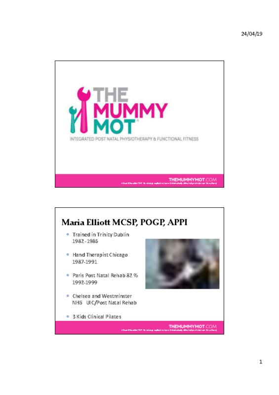 Mummy-MOT-Presentations